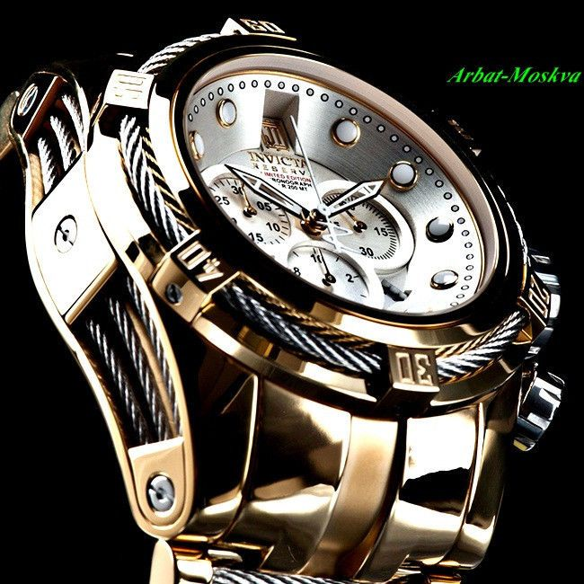 Invicta Mens Jason Taylor Reserve Limited Edition Luxury Watch 4795