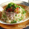 かんたんゴマキムチ素麺♪ by AZURIN5