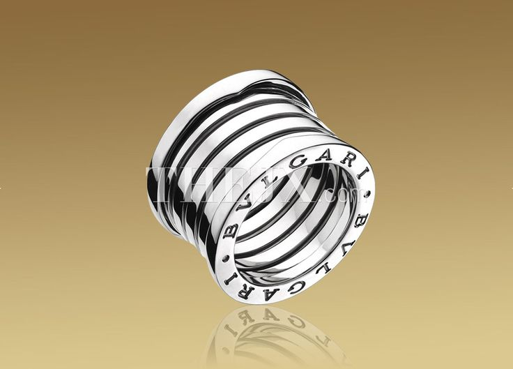 replica bvlgari classic 5band ring in 18kt white gold 11 high quality