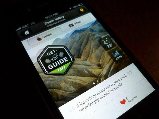 The National Parks UI App