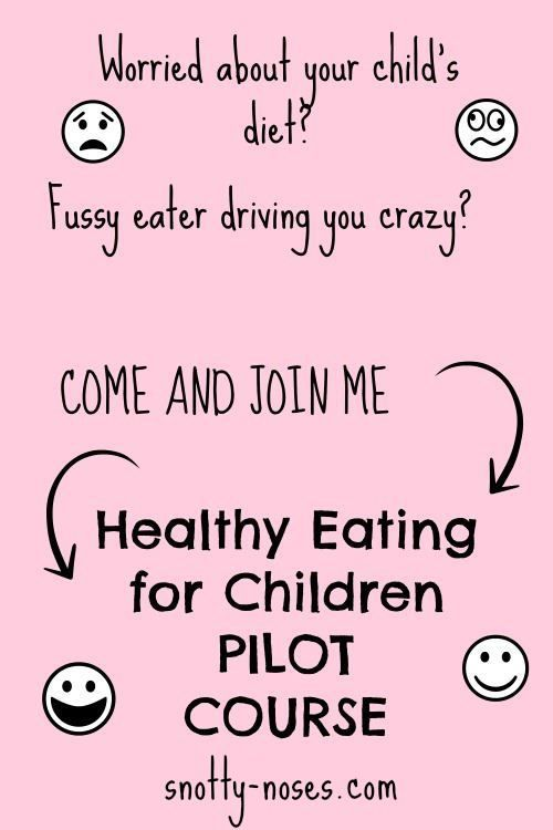 Healthy Eating for Children Pilot Course