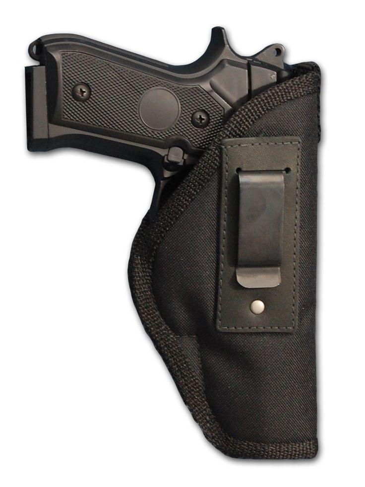 Barsony Gun Concealment Inside The Waistband Holster for Full Size 9mm .40 .45