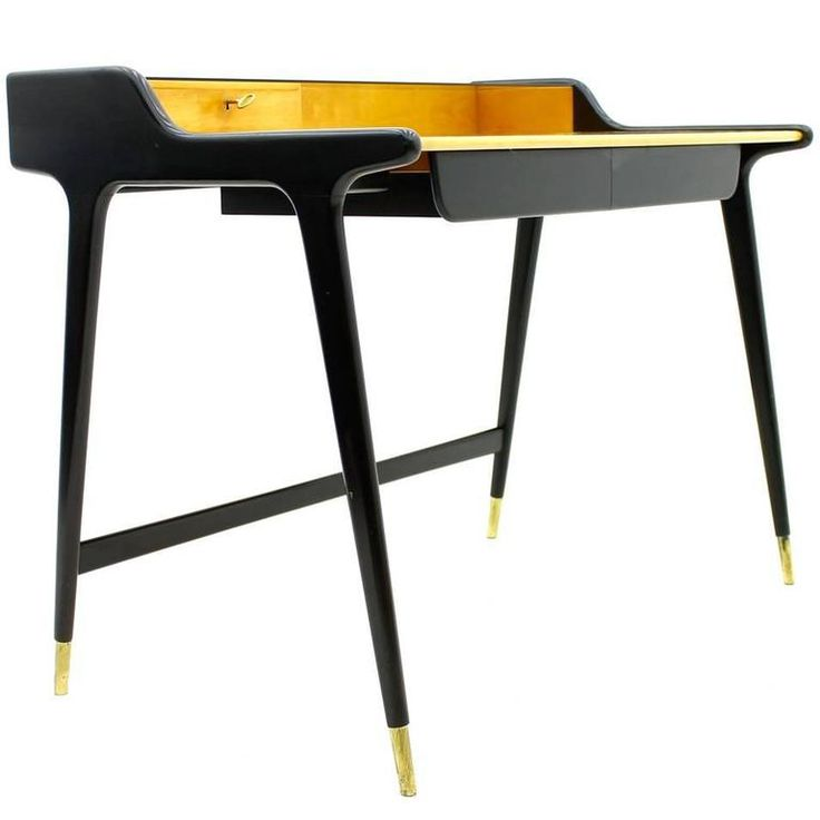 Table Top 1955: Ladies Desk, Writing Desk By Reinhold Stotz, Germany 1955