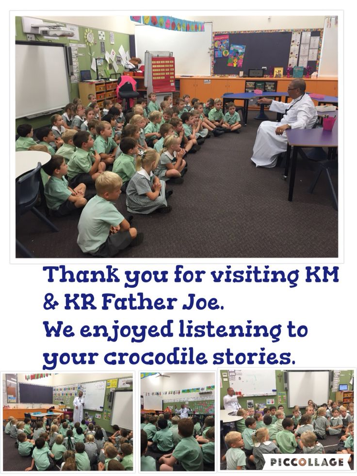 Father Joe visits KR and KM.