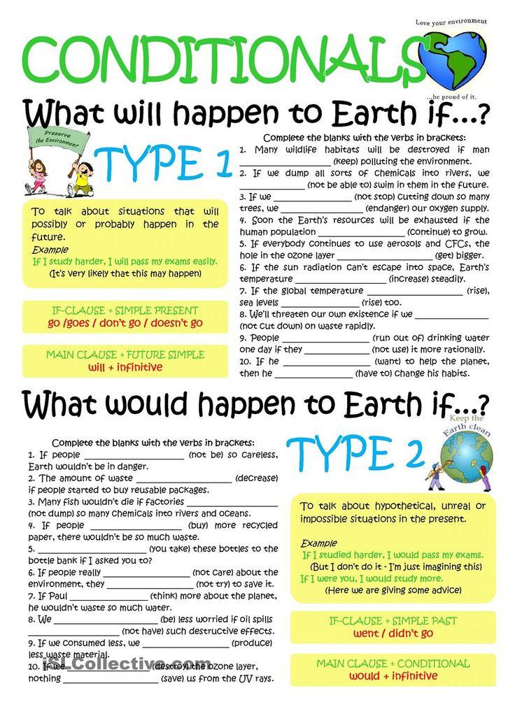 CONDITIONALS TYP1 &2