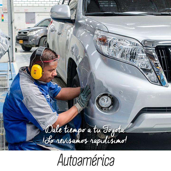 Sabemos que siempre andas corriendo, pero debes detenerte y darle tiempo a lo que más quieres: tu #Toyota. Revisamos tu vehículo con nuestro servicio #QuickRepair en #Autoamérica #Industriales, ¡en solo 4 horas!
