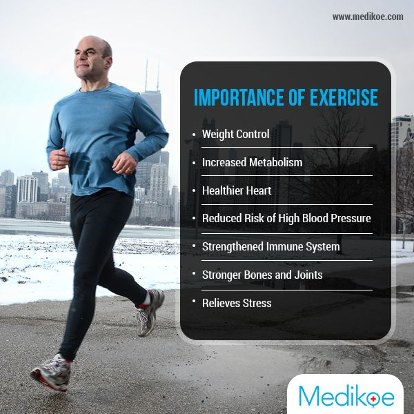 Know the importance of #exercise #HealthyFact #HealthyLifestyle #Medikoe
