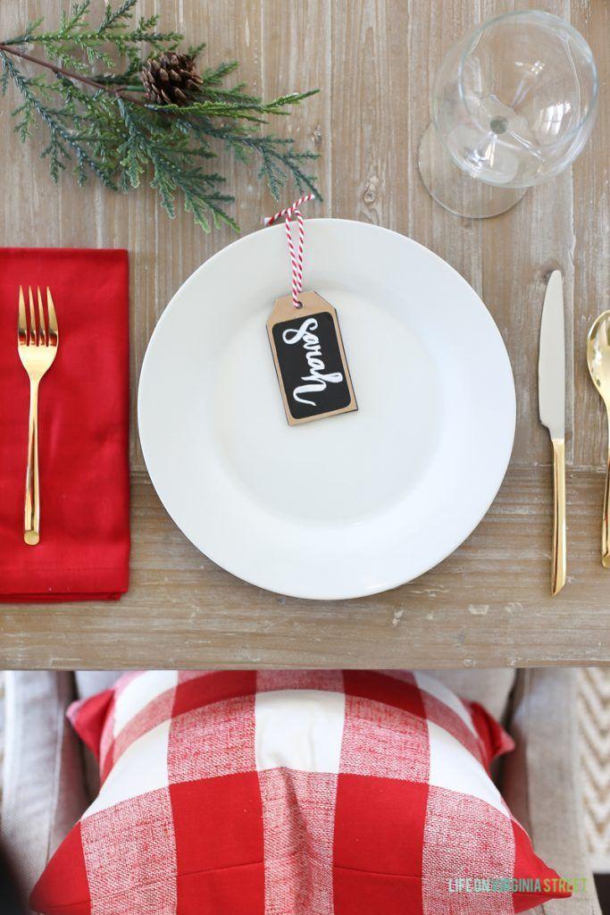 Christmas Place Settings Ideas 1357 Best Christmas Christmas #christmas Images On Pinterest .