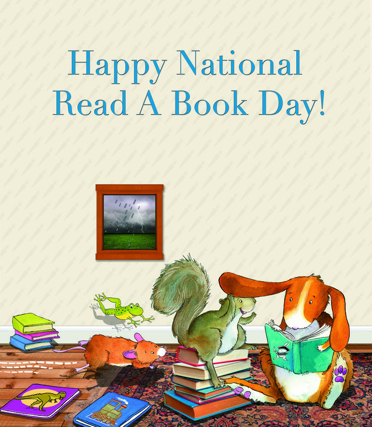Happy National Read A Book Day! A darling illustration from our Treasury of Bedtime Stories.