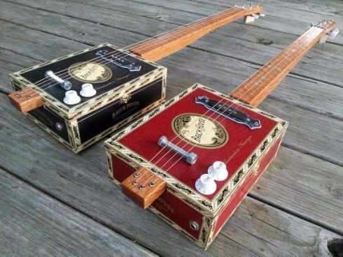 Brick House Cigar Box Guitar (DIY Project Download) – Woodworking ...