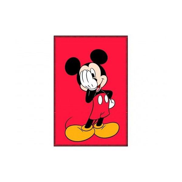 Mickey Maus  Fleece Kuscheldecke 100 x 150 cm
