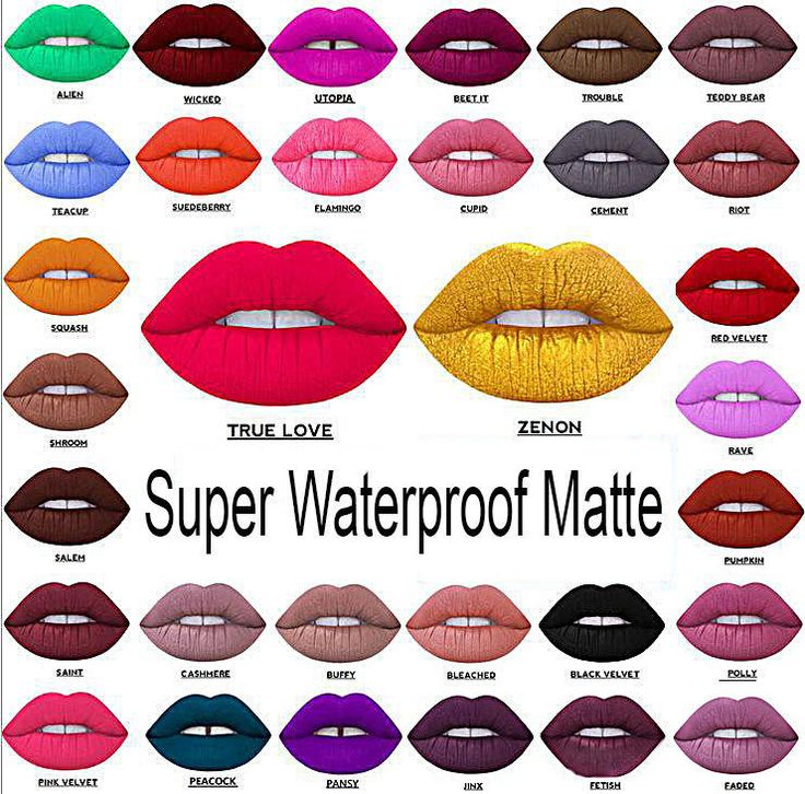 Beauty Waterproof Long Lasting Lip Liquid Pencil Matte Lipstick Makeup Lip Gloss Package Includes 1x Lipstick + Gift Buy More And Get Gifts! FREE Ship... #matte #lipstick #makeup #gloss #pencil #liquid #waterproof #long #lasting #beauty
