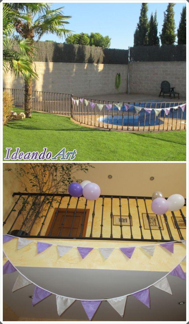 Banderolas DIY para decoración de eventos by IdeandoArt