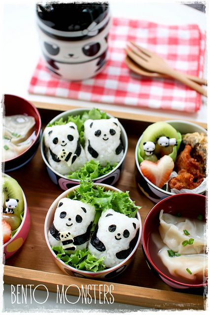 Bento school lunch - The cutest bento!