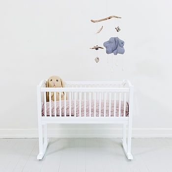 Scandinavian Baby Cradle £340.00 A classic rocking cradle – perfect for baby's first bed – and a beautiful heirloom piece.