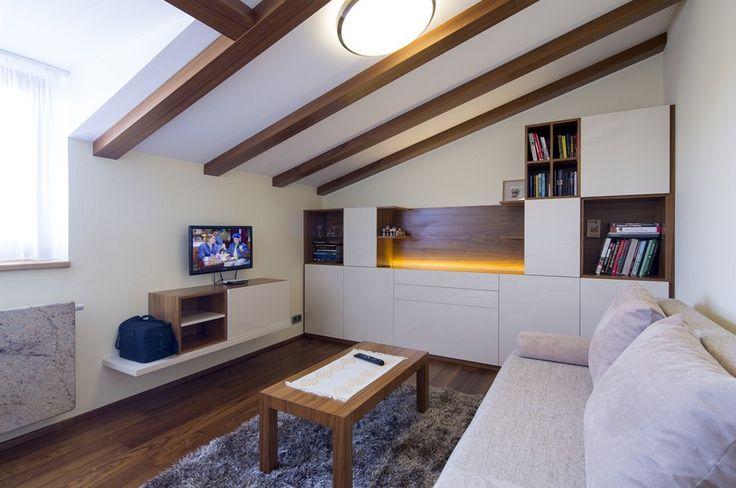 Pokoj pro hosty v podkroví