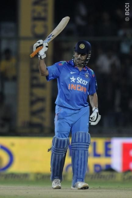 Mahendra Singh Dhoni India West Indies Second ODI