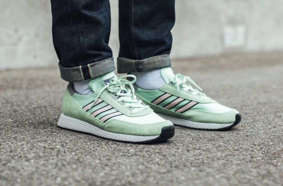 Mist Jade Covers The adidas Spezial Glenbuck       The adidas Spezial Glenbuck is a new iteration of the classic silhouette, as this style is perfectly colored for spring and summer with a mist ... http://drwong.live/sneakers/adidas-spezial-glenbuck-mist-jade-now-available/