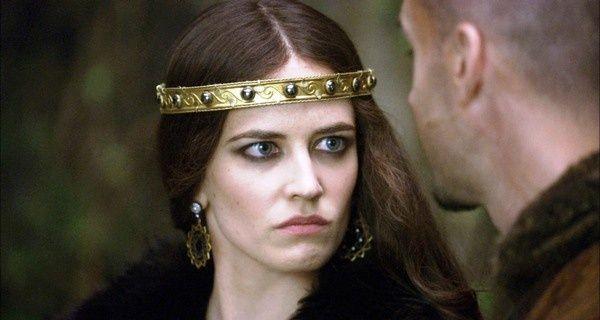 """Eva Green jako Morgana (""""Camelot"""") -czysta nienawiść w oczach ..."""