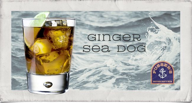 Boat Drink Recips: Pusser's Ginger Sea Dog - click link to make :)