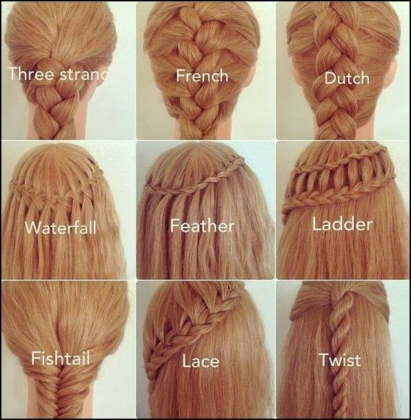 Hairstyles for long medium short hair | Hairstyles |Hair Ideas |Updos The French Braid is my go to braid for when I have dirty hair.