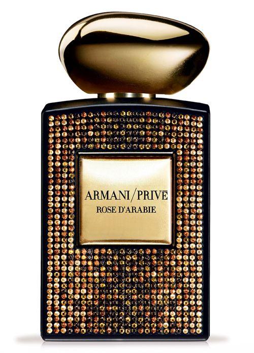 Rosamaria G Frangini | Parfumerie | Armani Prive Rose d`Arabie Limited Edition Swarovski Giorgio Armani perfume - a new fragrance for women and men 2014