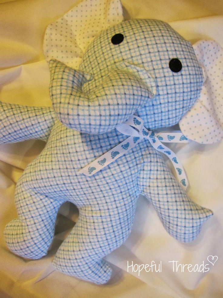 Ruby Jean S Closet Elephant Pattern Stuffed Friends