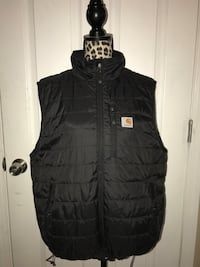25$!! Men's Black Carhartt Vest in Fairbanks - letgo