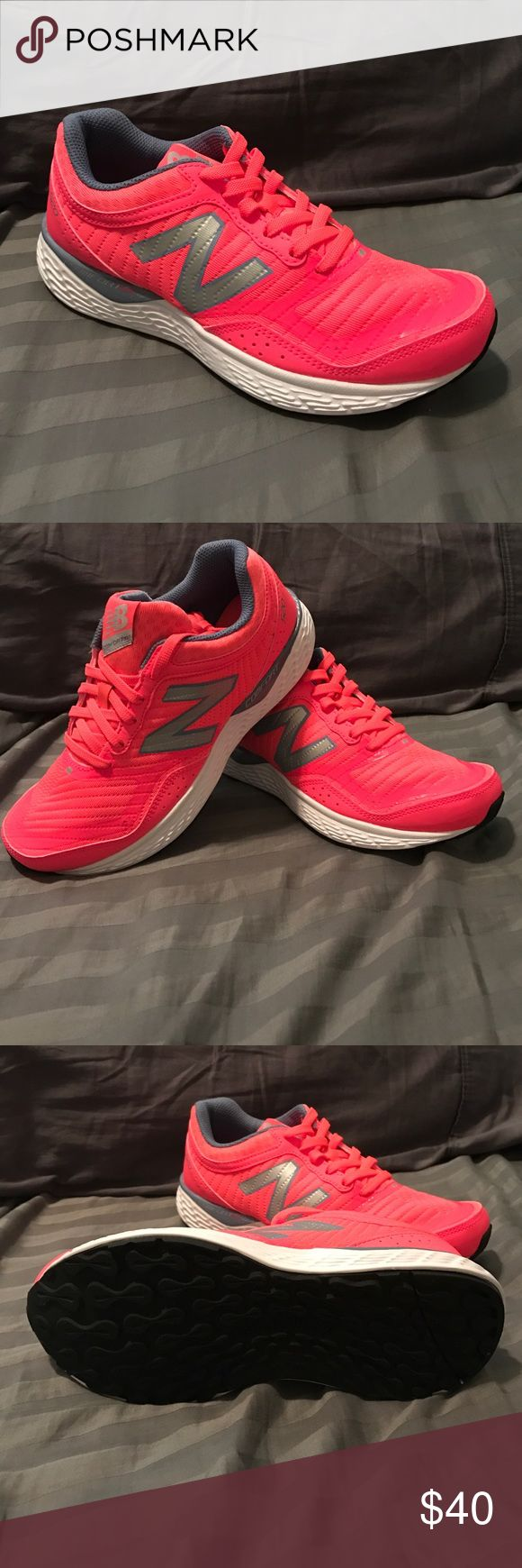 New Balance W520v2 Brand new women's New Balance w520v2 - color is coral/light blue New Balance Shoes Athletic Shoes