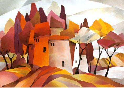 $32 28 x 20 Fairy Like IV Print by Gisela Funke at Art.com