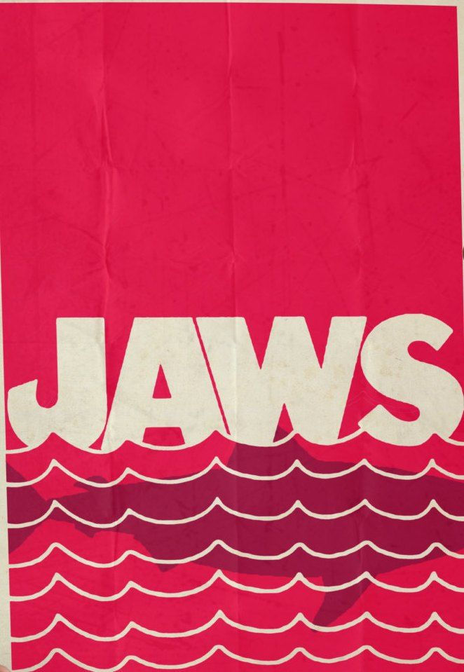 17 best images about jaws on pinterest sharks for Minimal art literatur