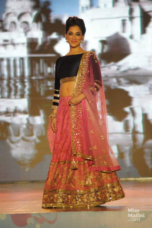 #ManishMalhotra charity show for save and empower the girl child