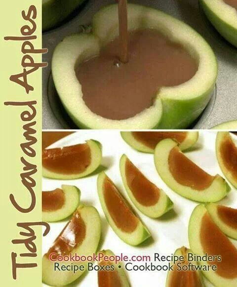 Carmeled Apple Slices