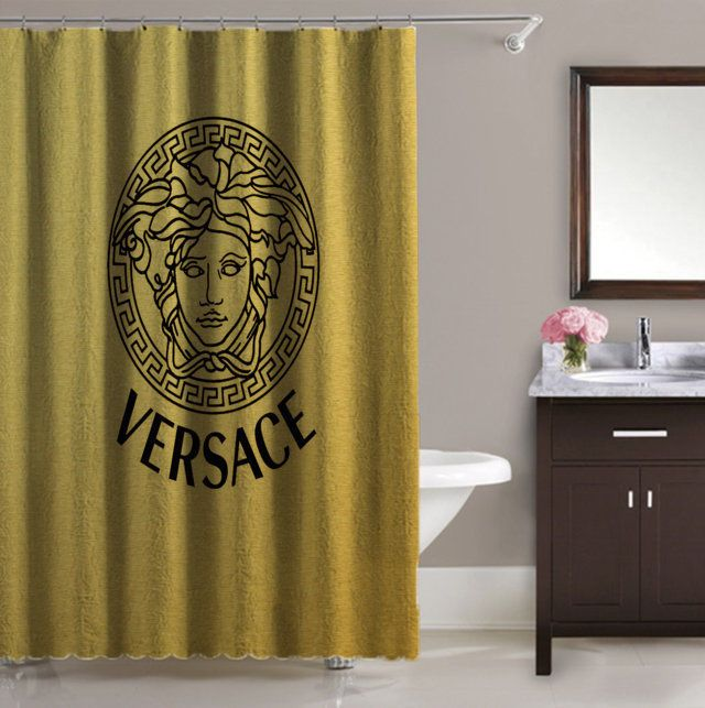 Luxury Design Versace Logo Gold Pattern High Quality Waterproof