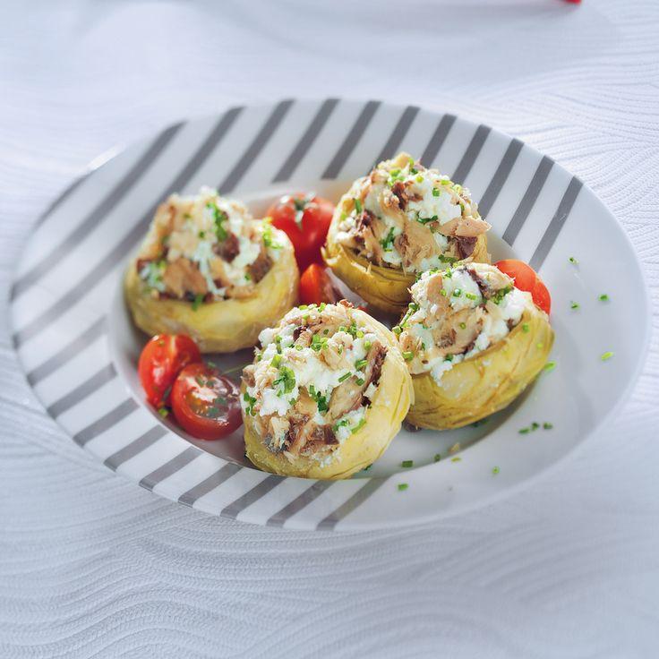 Artichaut aux rillettes de sardines Recette | Weight Watchers