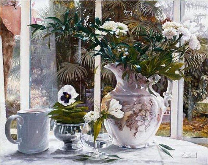 утренние цветы - Поиск в Google