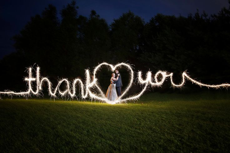 """Jessica Kranz Photography can add a special effects sparkler """"light writing"""" photo into your wedding package in central Ohio. Ask how!"""