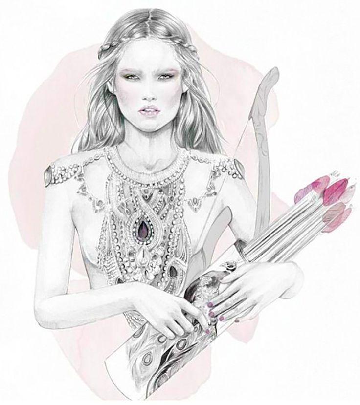 Sagittarius Archeress