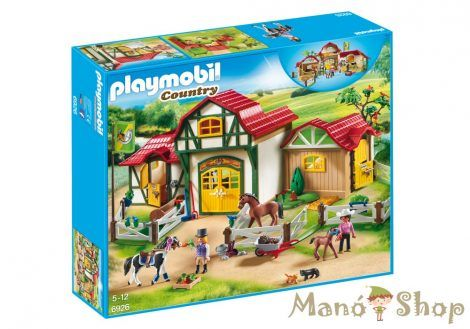 Playmobil Country Lovagló Udvar 6926