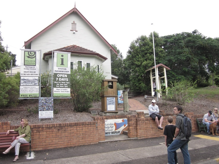 Open 7 days - great Eumundi cultural history displays and lots of help for visitors in what to see and do