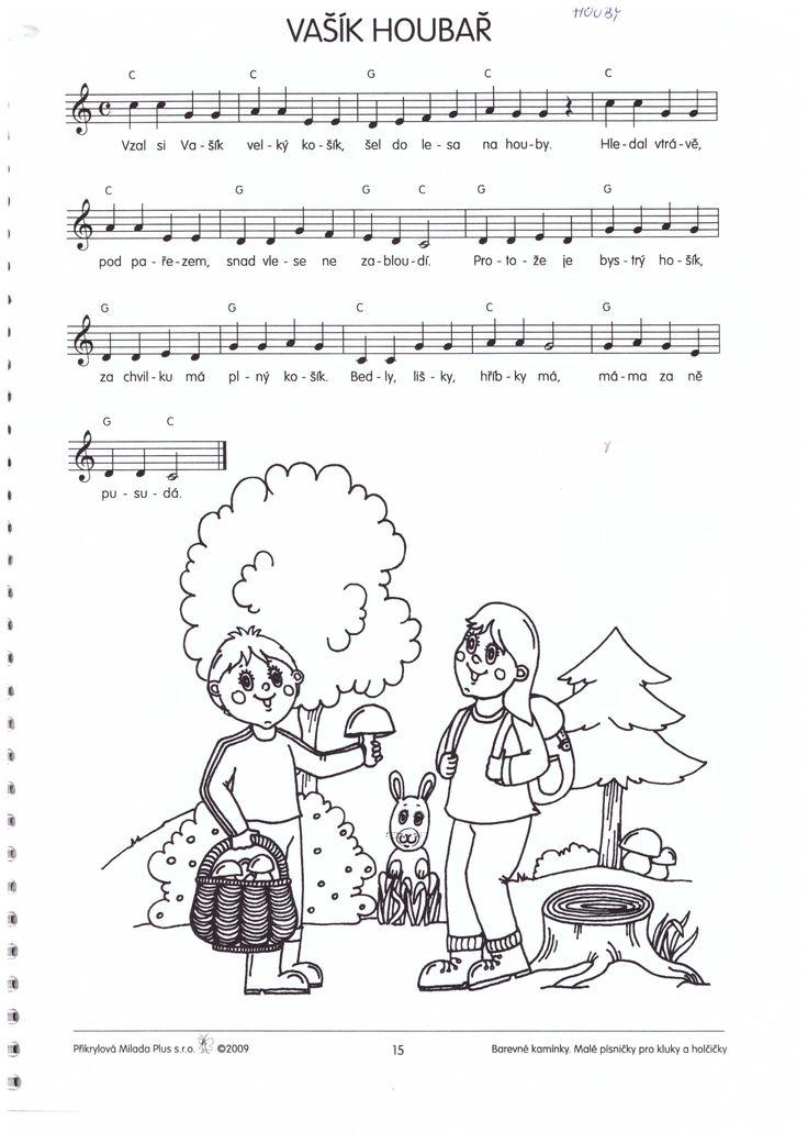 vašík houbař písnička houby