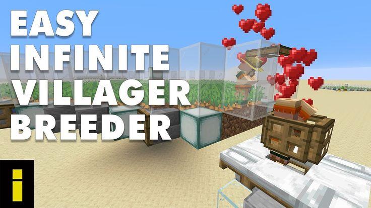 Easy Infinite Villager Breeder For Minecraft 1.15.2 ...