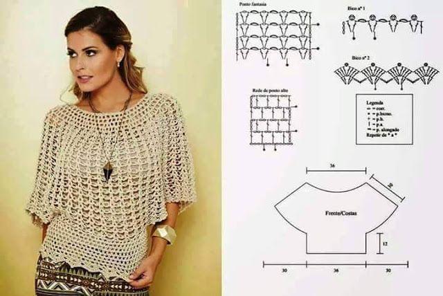 Моя грудь Инспирации: Блузы ажурные узоры и PAP