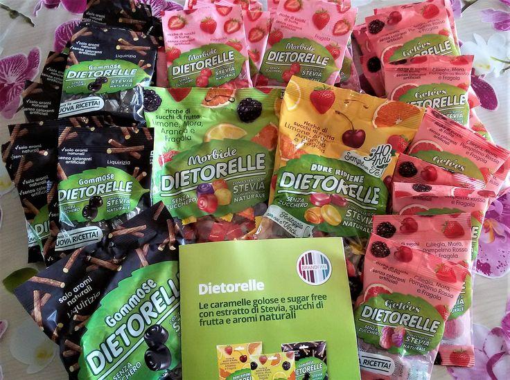 Le+nuove+Dietorelle+con+estratto+di+stevia