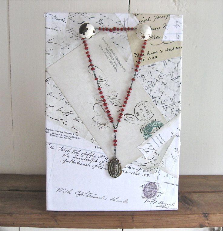Handmade Jewelry Displays | handmade jewelry display by anythinggoeshere on Etsy