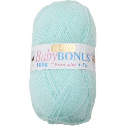 Hayfield Baby Mint Baby Bonus 4 Ply Yarn 100 G | Hobbycraft