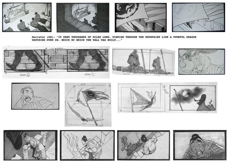 Best Storyboard Colorscript Images On   Studios