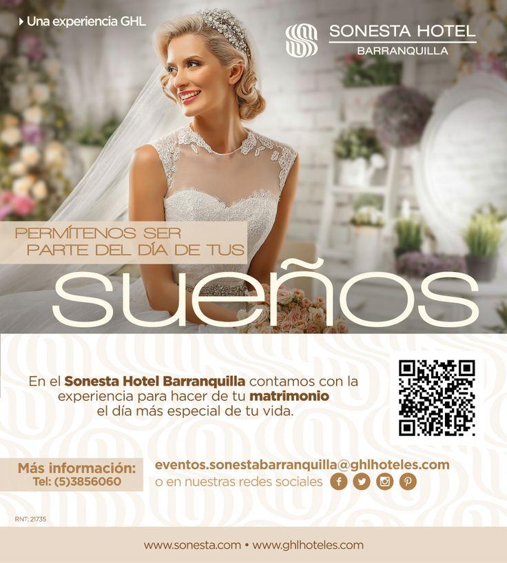 Tus sueños en Sonesta Hotel Barranquilla