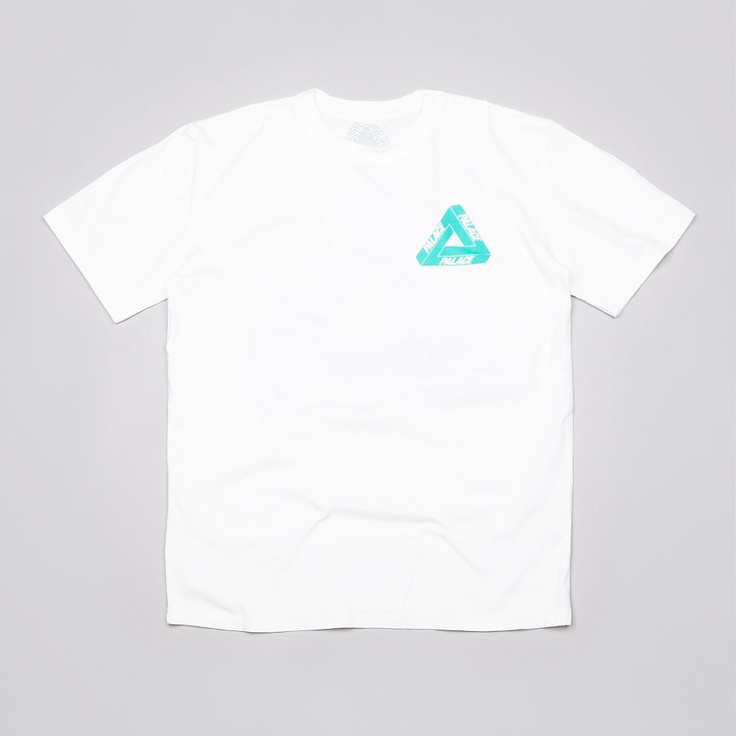 PALACE TRI-FERG ICED OUT T SHIRT WHITE
