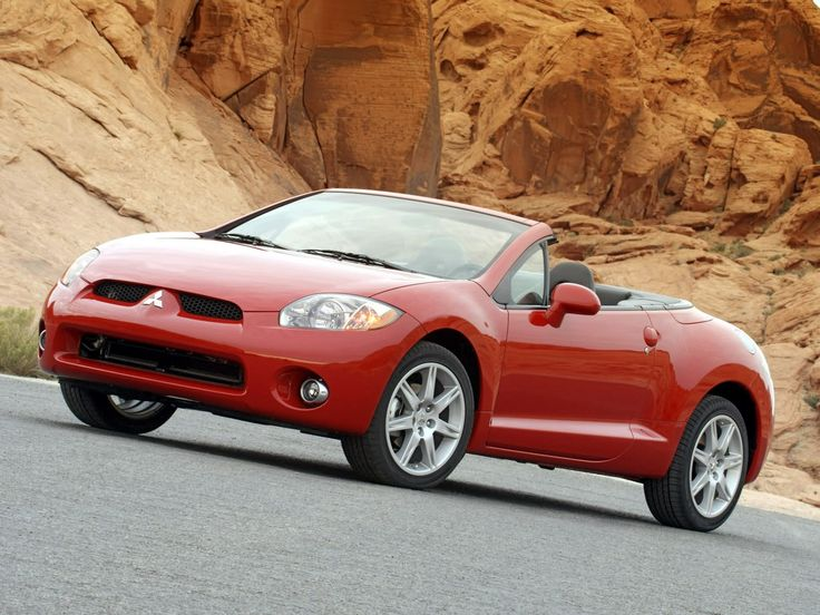 2007 Mitsubishi Eclipse spider GT V6 #DieHard #Mitsubishi #Eclipse #Enthusiast? #Protect your #Evo with #PPF kits from www.rvinyl.com/Mitsubishi-Eclipse-Paint-Protection.html